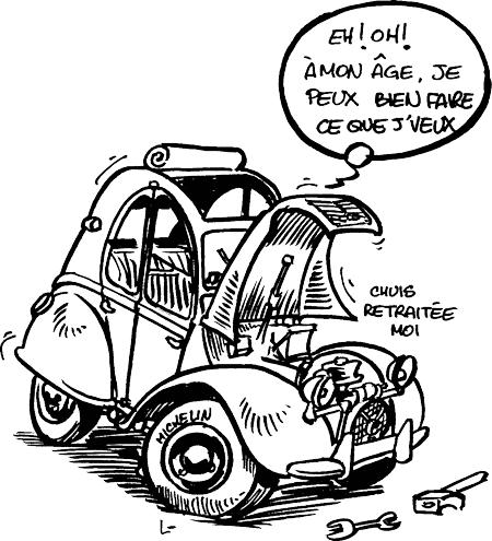 Achat d 39 un nouveau v hicule utilitaire ou break philip - Dessin humoristique voiture ...